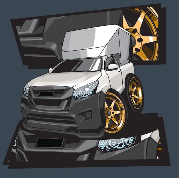 Auto tekenfilm