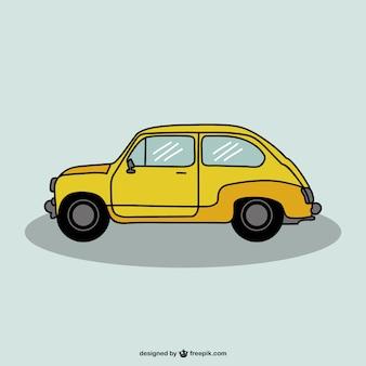Auto tekening vector design