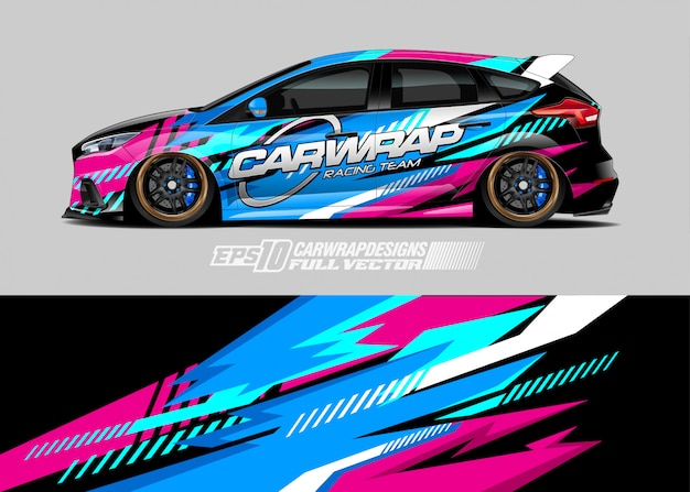 Auto wrap emblemen ontwerpen