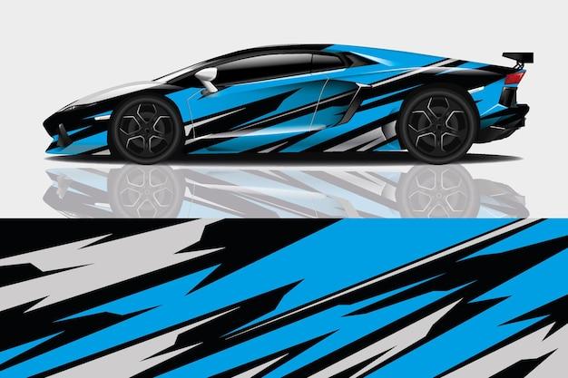 Auto wrap en vinyl sticker
