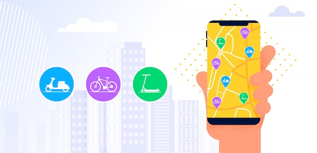 Autodelen service mobiele applicatie.