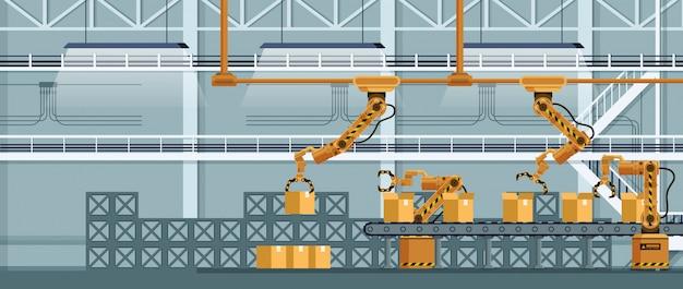 Automatische robot-klauwtransporteur verpakkingsvracht