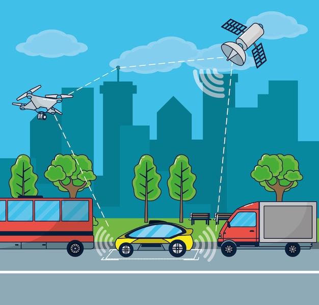 Autonome autotechnologie