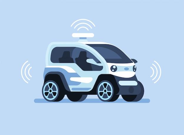 Autonome zelfrijdende auto