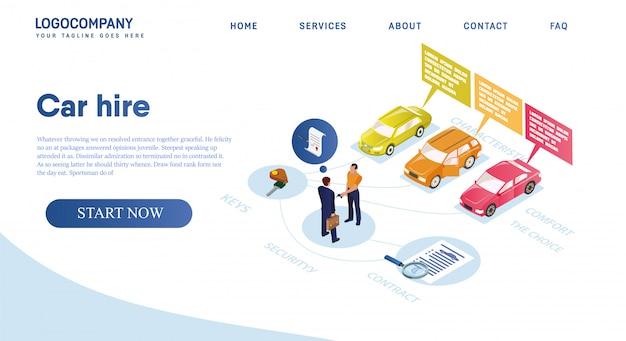 Autoverhuur, huur kiest het beste voertuig voor comfort.