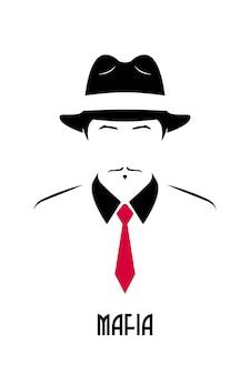 Avatar van de italiaanse maffia.