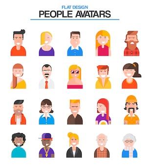 Avatars mensen