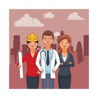 Avatars voor beroep en beroep