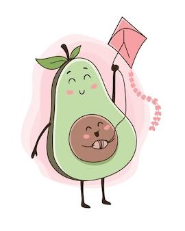 Avocado vliegeren