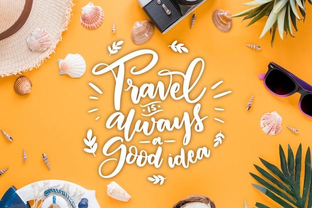 Avontuurlijke reizen belettering