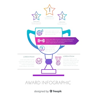 Award infographic