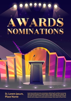 Award nominaties poster