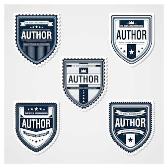 Awesome badges-sjabloon