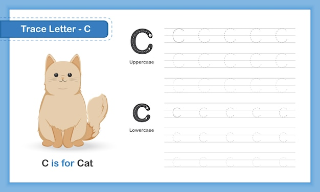 Az animal hand schrijven oefenboek