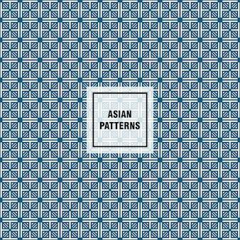 Aziatisch patroon