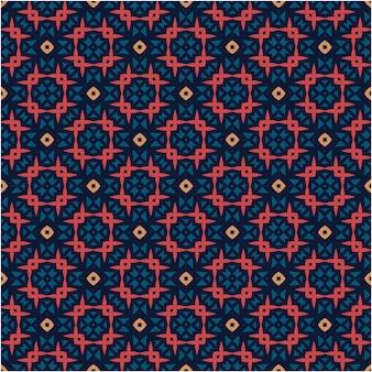 Aziatische batik motief patroon achtergrond minimalistische stijl
