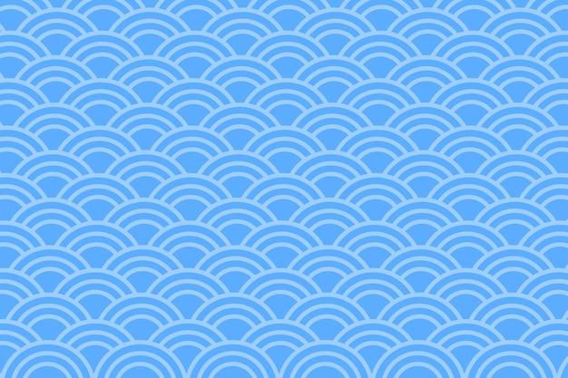 Aziatische stijl blauwe abstracte achtergrond.