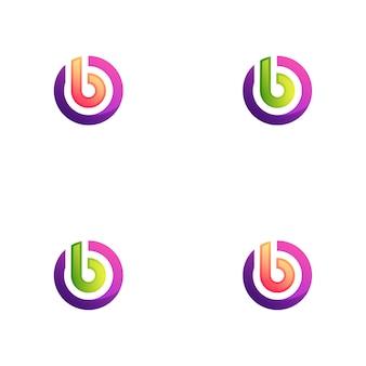 B cirkel logo