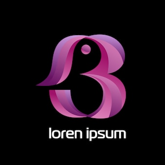 B-logo concept
