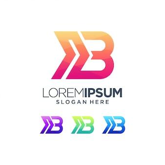 B logo merk