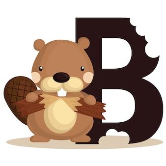 B voor beaver