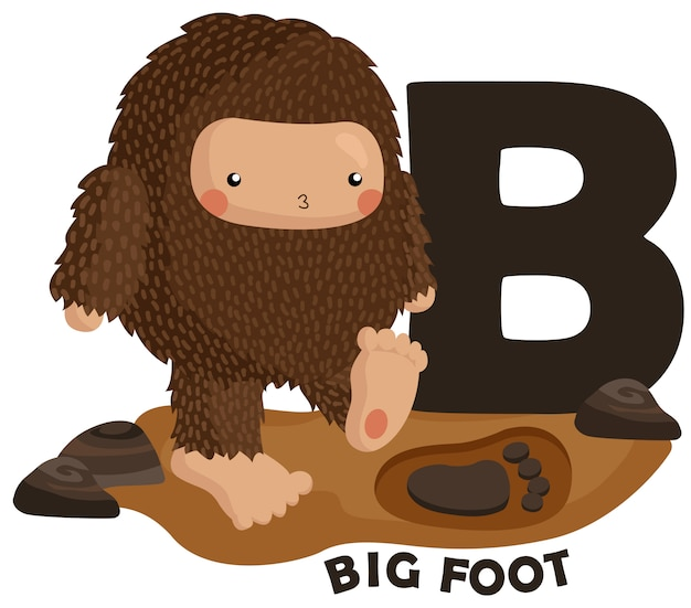 B voor big foot