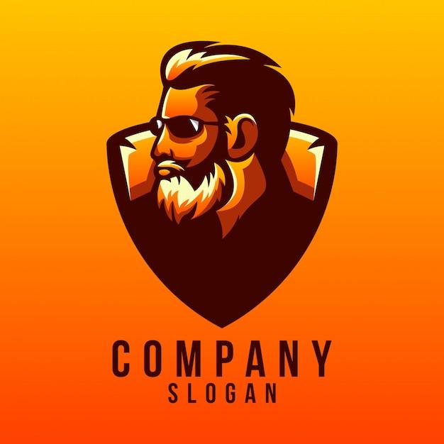 Baard logo ontwerp