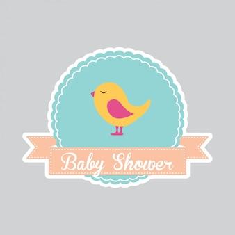 Baby douche kaart