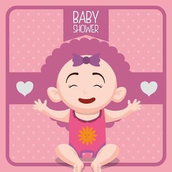 Baby douche ontwerp