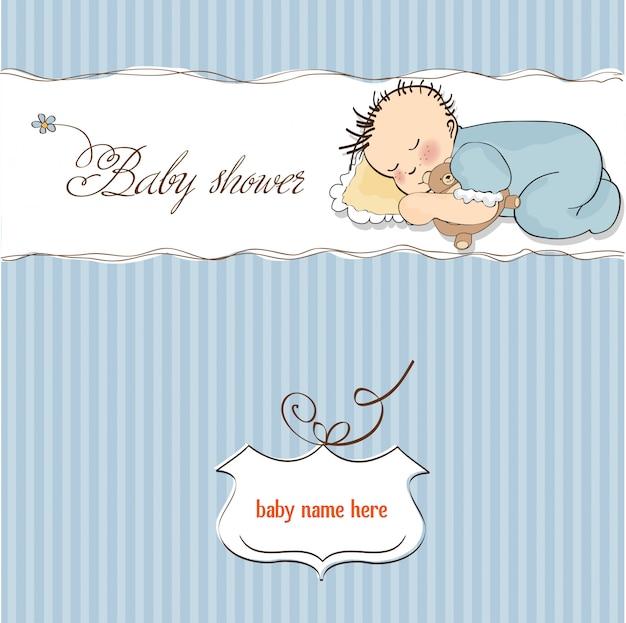 Baby douchekaart