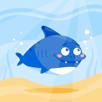 Baby haai illustratie