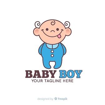 Baby jongen logo