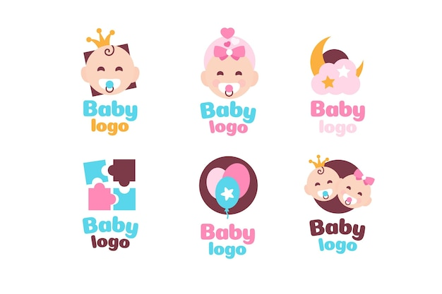 Baby logo collectie