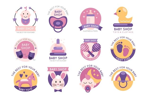 Baby logo collectie