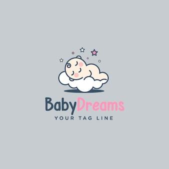 Baby logo ontwerp