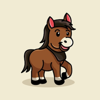 Baby paard logo