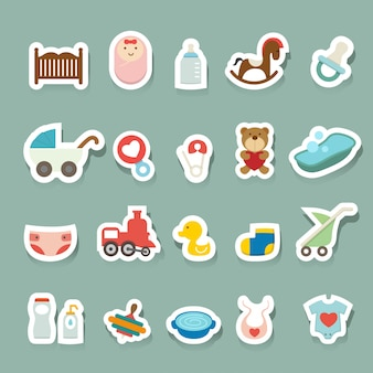 Baby pictogrammen instellen