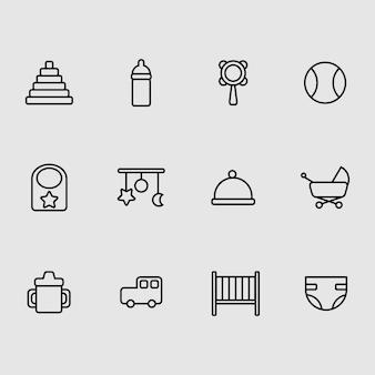 Baby pictogrammen