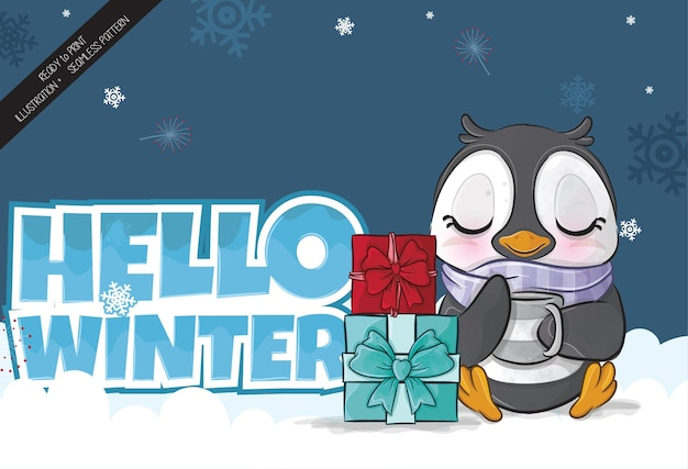 Baby pinguïn 2