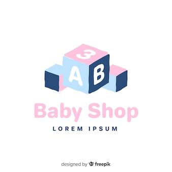 Baby schattig logo