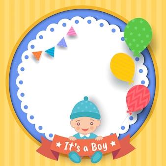 Baby shower-boy