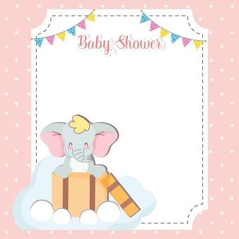 Baby shower kaart