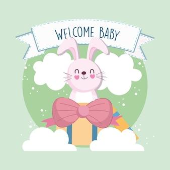 Baby shower konijntje
