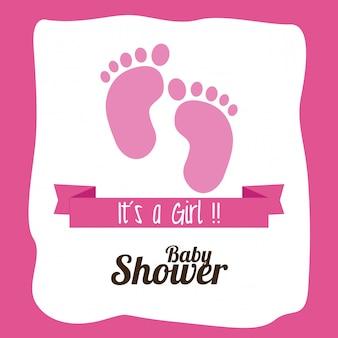Baby shower ontwerp