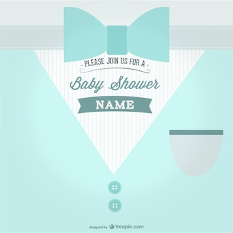 Baby shower partij thema