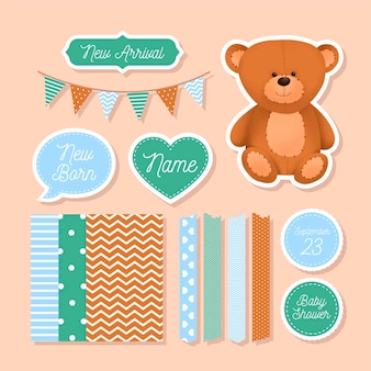 Baby shower plakboekcollectie