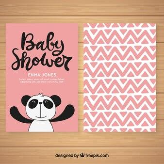 Baby shower uitnodiging