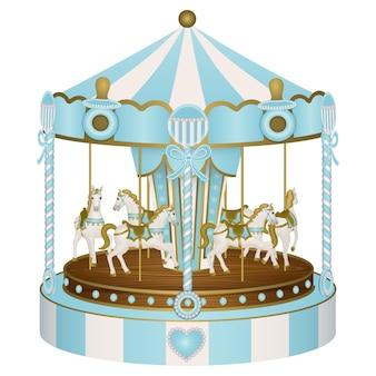Babydouche carrousel voor babyjongen