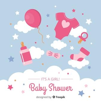 Babydouche concept voor meisje
