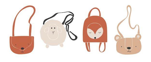 Babykleding boho, abstracte boho tassen, schattige minimale slijtage voor kinderen, kleding, babyset, abstracte elementen voor kinderen